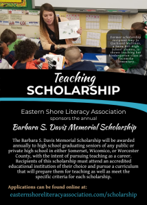 Barbara S. Davis Scholarship Flyer